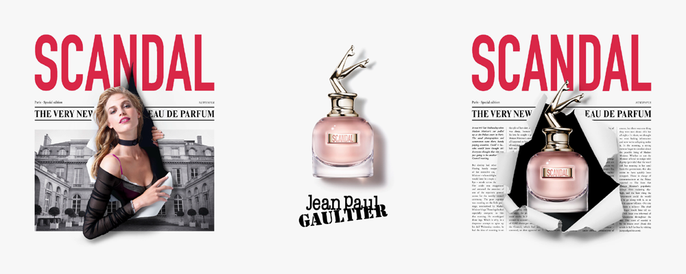 Jean Paul Gaultier Scandal Perfume for Her - thefragrancecounter.co.uk
