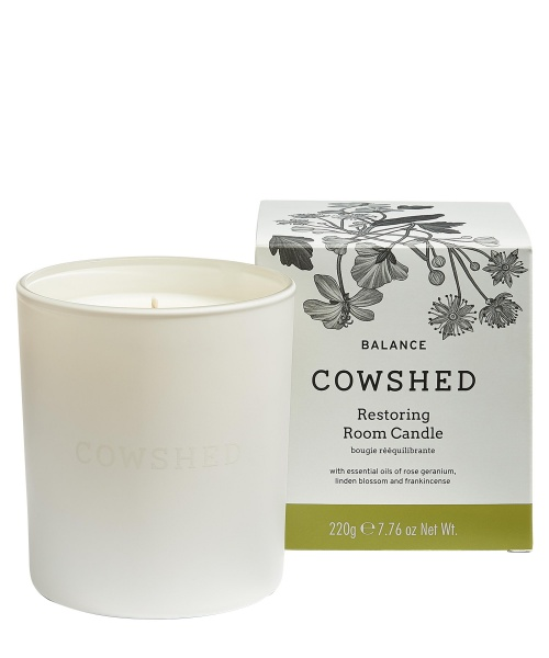 Cowshed BALANCE Restoring Room Candle 220g
