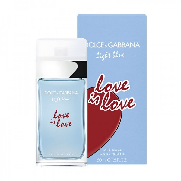 Dolce & Gabbana Light Blue Love Is Love Eau De Toilette 50ml
