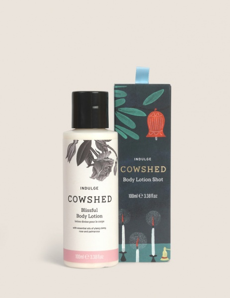 Cowshed Indulge Body Lotion Shot Gift Set 2020