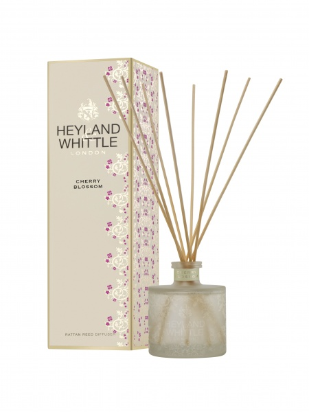 Heyland & Whittle Gold Classic Cherry Blossom Reed Diffuser 200ml