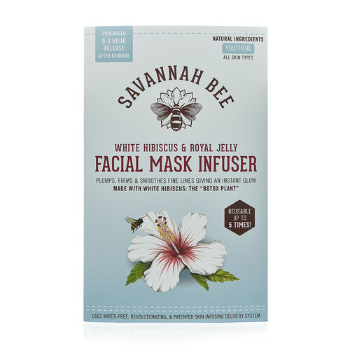 Savannah Bee White Hibiscus and Royal Jelly Face Mask