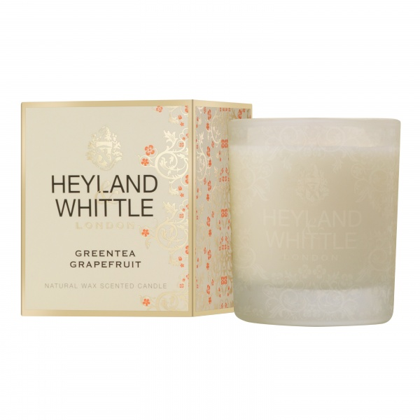 Heyland & Whittle Gold Classic Greentea Grapefruit Candle 230g