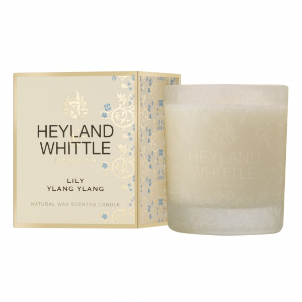 Heyland & Whittle Gold Classic Lily Ylang Ylang Candle 230g