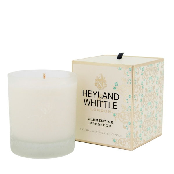 Heyland & Whittle Gold Classic Clementine Prosecco Candle 230g