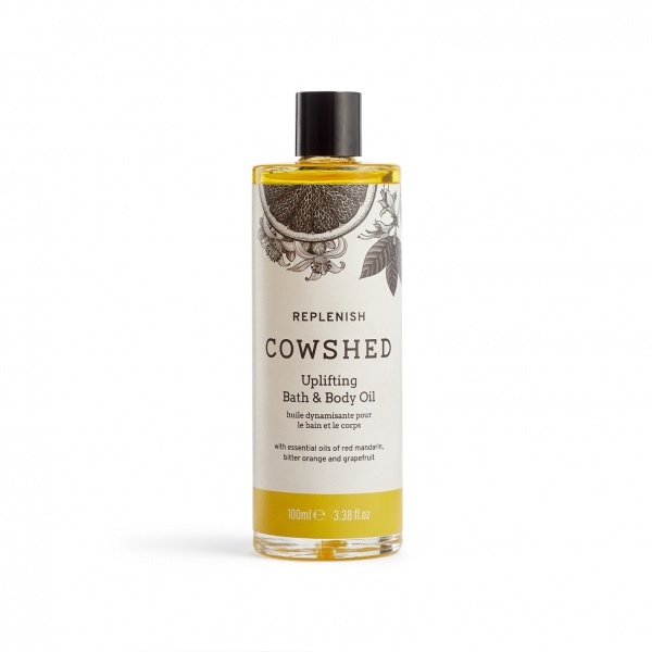 Cowshed REPLENISH Uplifting Bath & Body Oil 3.4oz (100ml)