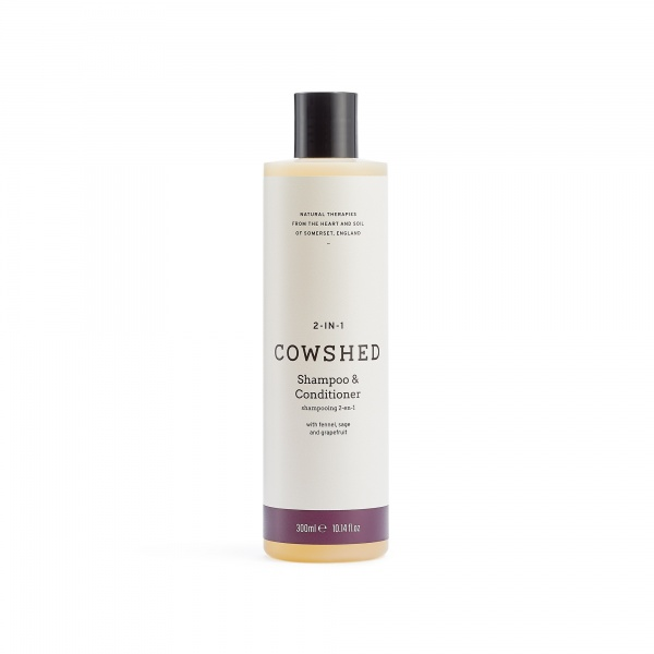 Cowshed 2-In-1 Shampoo & Conditioner (Bullocks 2-in-1 Shampoo & Conditioner) 300ml