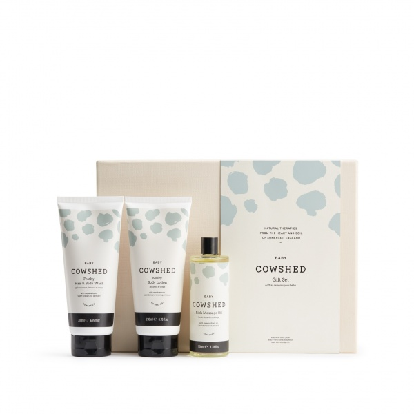 Cowshed Baby Bath Time Ritual Gift Set
