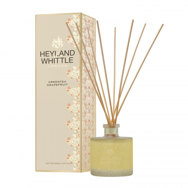 Heyland & Whittle Gold Classic Greentea Grapefruit Reed Diffuser 200ml
