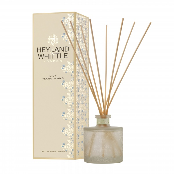 Heyland & Whittle Gold Classic Lily Ylang Ylang Reed Diffuser 200ml