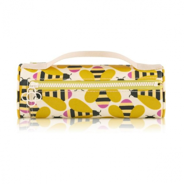 Orla Kiely Busy Bee Pencil Case Cosmetic Bag