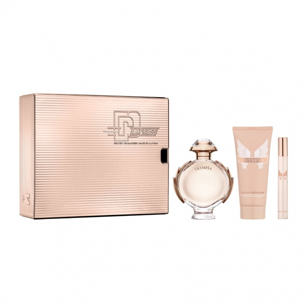 Paco Rabanne Olympea EDP 80ml, Body Lotion 100ml & Travel Spray 10ml