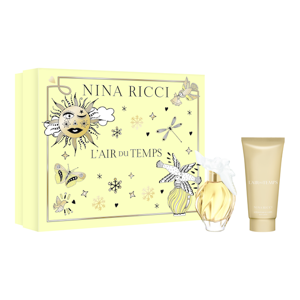 Nina Ricci L'air Du Temps EDT 1.0oz (30ml) & Body Lotion 2.5oz (75ml)