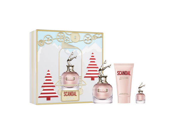 Jean Paul Gaultier Scandal EDP 50ml, Body Lotion 75ml & Mini 2019