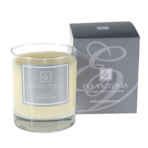 Eve Victoria Neroli, Rose & Sandalwood Small Candle