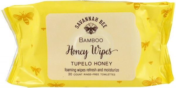 Savannah Bee Honey Face and Body Wipes- 30