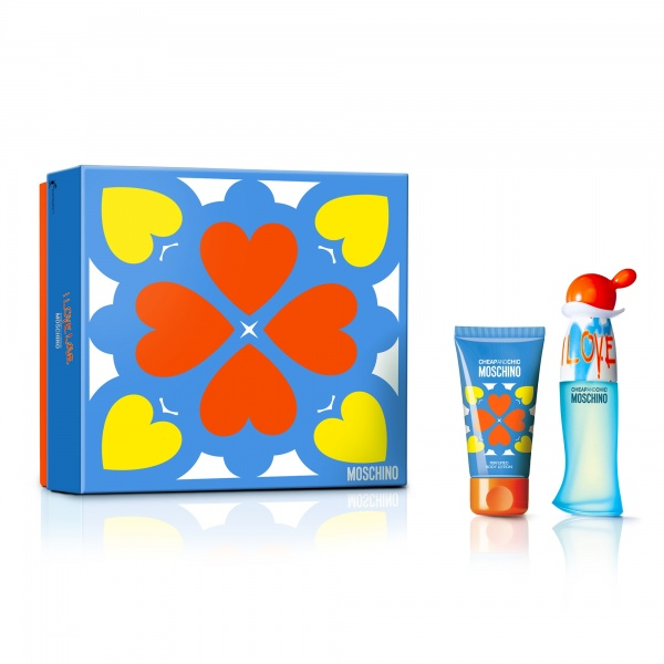 Moschino I Love Love Eau De Toilette 30ml Gift Set