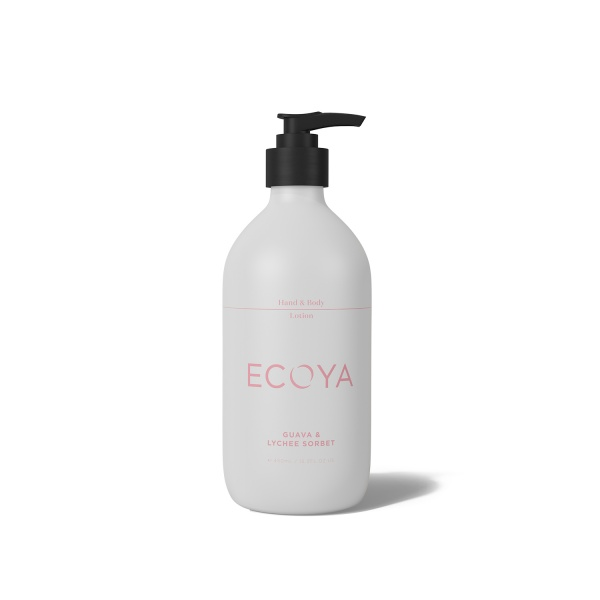 Ecoya Guava and Lychee Hand and Body Lotion 450ml
