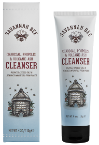 Savannah Bee Charcoal Propolis and Volcanic Ash Cleanser