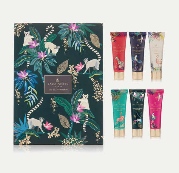 Sara Miller Tahiti Hand Cream Collection 6 x 30ml