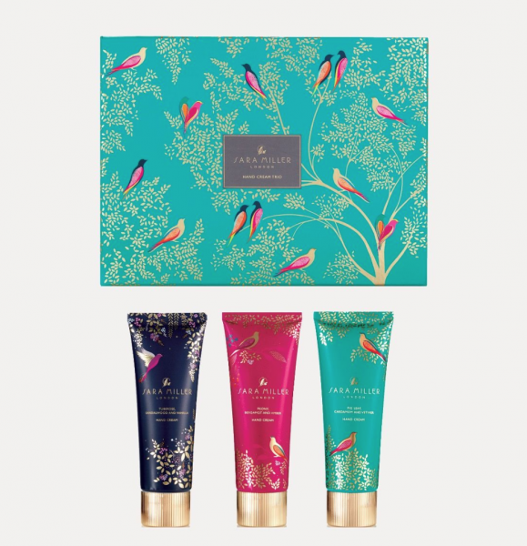 Sara Miller Hand Cream Collection  3 x 90ml
