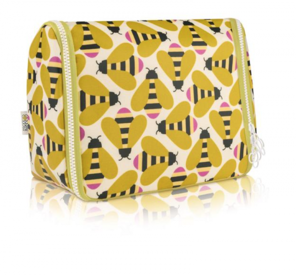 Orla Kiely Busy Bee Hanging Washbag