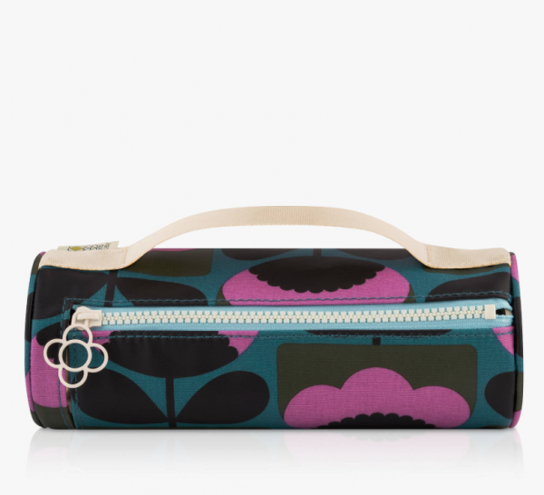 Orla Kiely Spring Bloom Pencil Case Cosmetic Bag