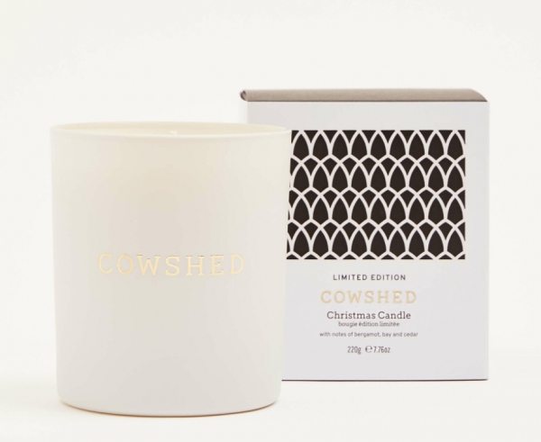 Cowshed Christmas Candle 220g Limited Edition 2020