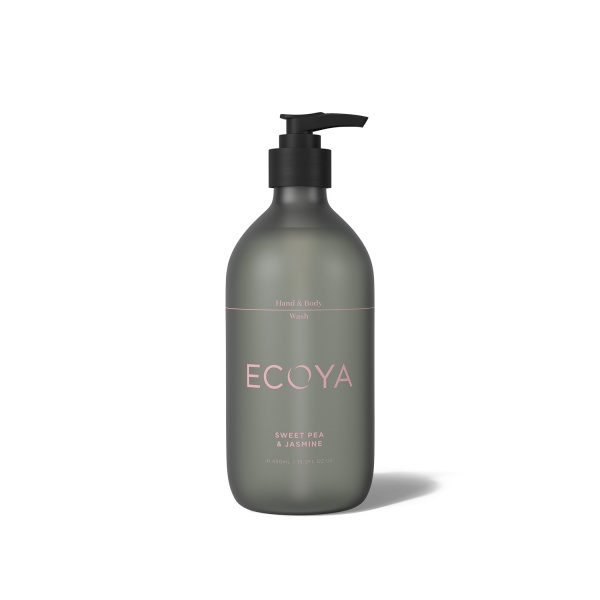 Ecoya Sweet Pea and Jasmine Hand and Body Wash 450ml