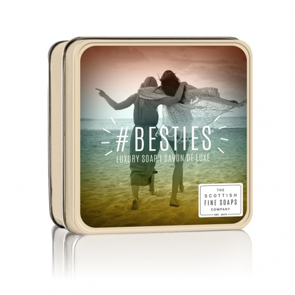Scottish Fine Soaps #Besties Soap Tin 100g