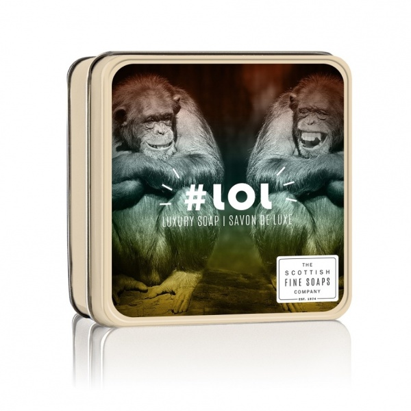Scottish Fine Soaps #LOL Soap Tin 100g