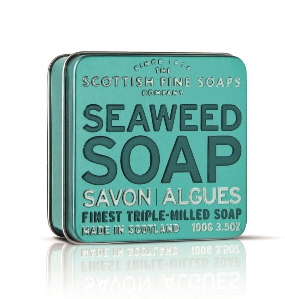 Scottish Fine Soaps Seaweed Soap Tin 100g