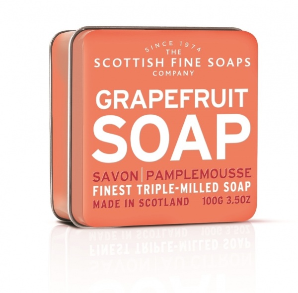 Scottish Fine Soaps Grapefruit Soap Tin 100g