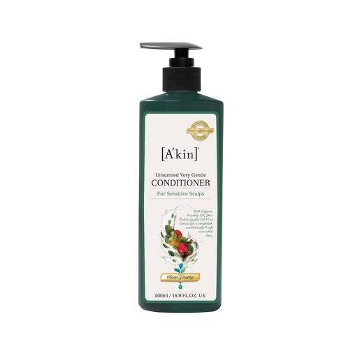 A'kin Unscented Very Gentle Conditioner 16.9oz (500ml)