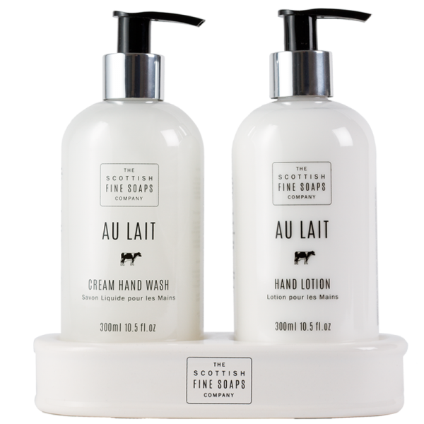 Scottish Fine Soaps Au Lait Hand Care Gift Set