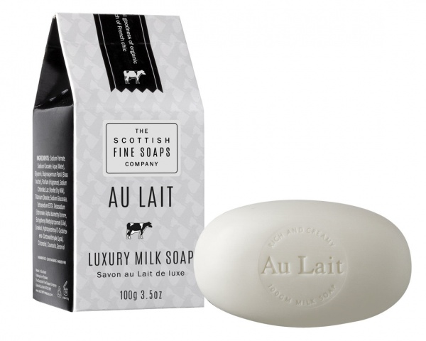 Scottish Fine Soaps Au Lait Luxury Milk Soap Carton 100g