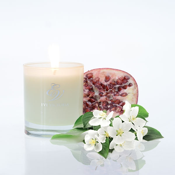 Eve Victoria Apple Blossom & Pomegranate Candle 30cl