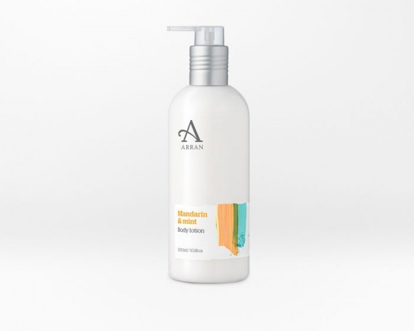 Arran Formulas Mandarin and Mint Body Lotion 300ml