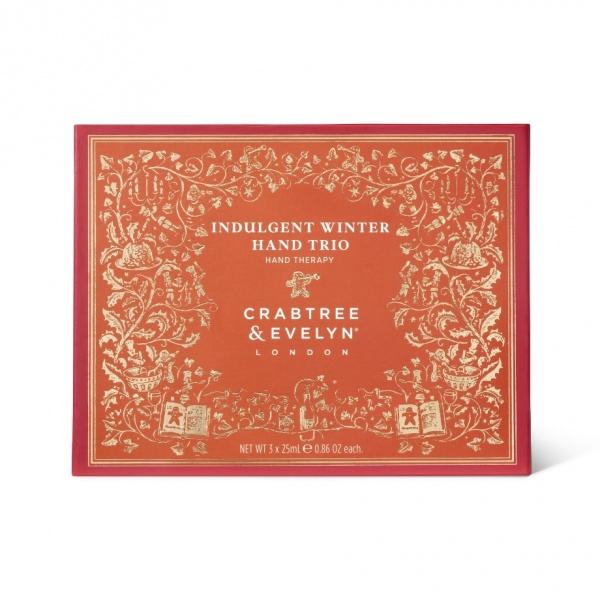 Crabtree & Evelyn Indulgent Winter Hand Trio Gift Set
