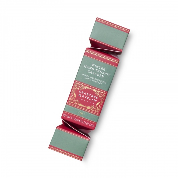 Crabtree & Evelyn Winter Hand Trilogy Cracker Gift Set