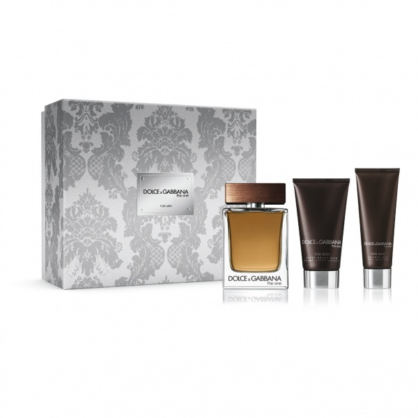 Dolce & Gabbana The One For Men Eau De Toilette 3.4oz (100ml)  Gift Set