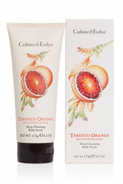 Crabtree & Evelyn Tarocco Orange, Eucalyptus & Sage Body Scrub 175g