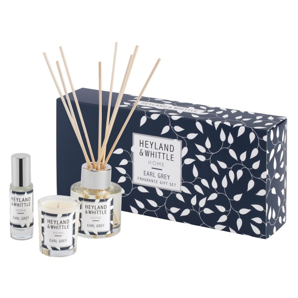 Heyland & Whittle Home Earl Grey Fragrance Gift Set