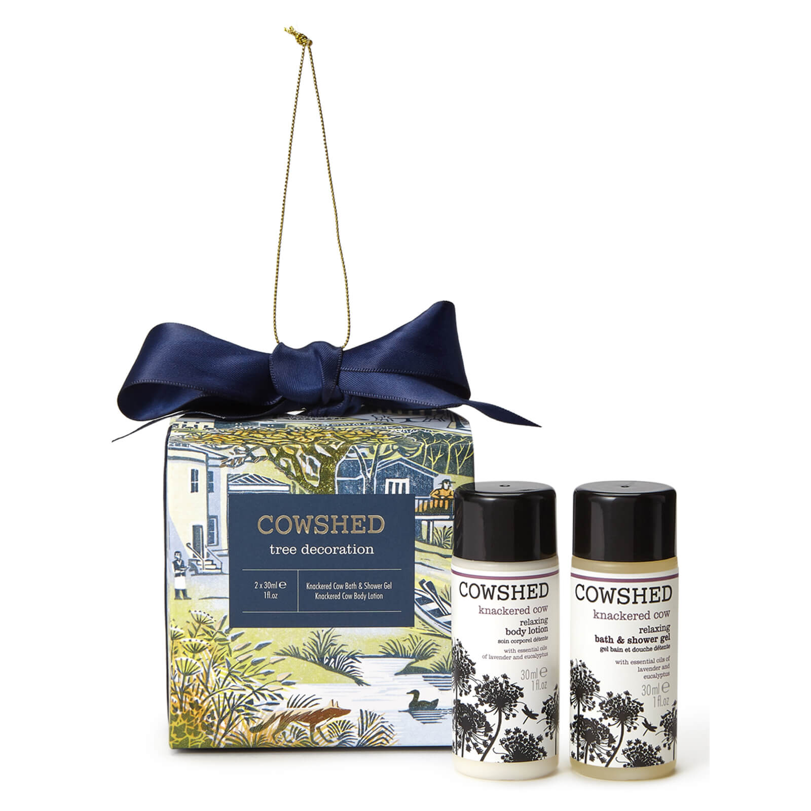 Cowshed Tree Decoration Bath and Body Gift Set