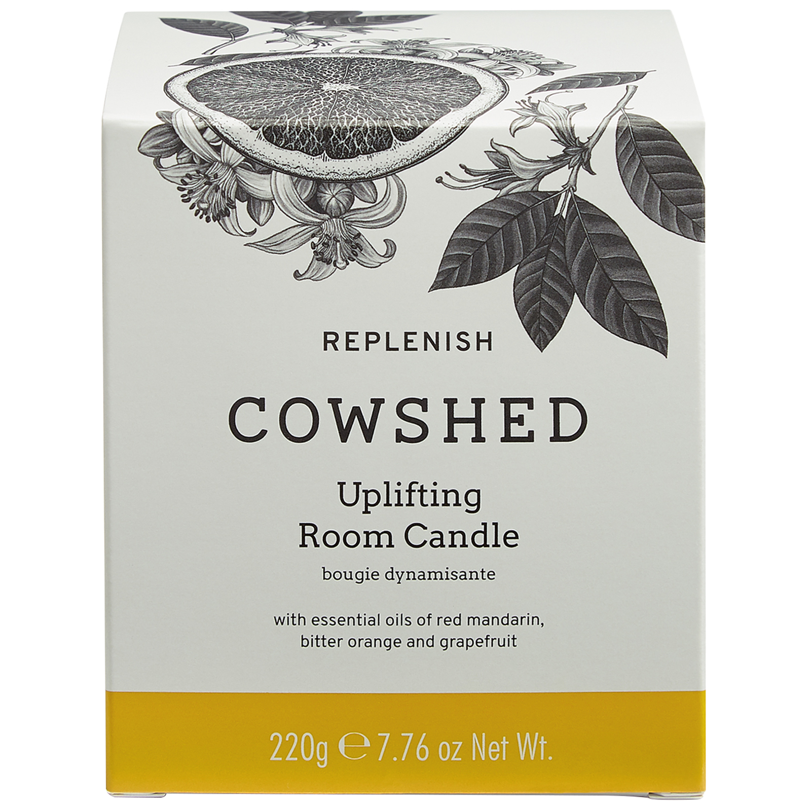 Cowshed REPLENISH Uplifting Room Candle 220g