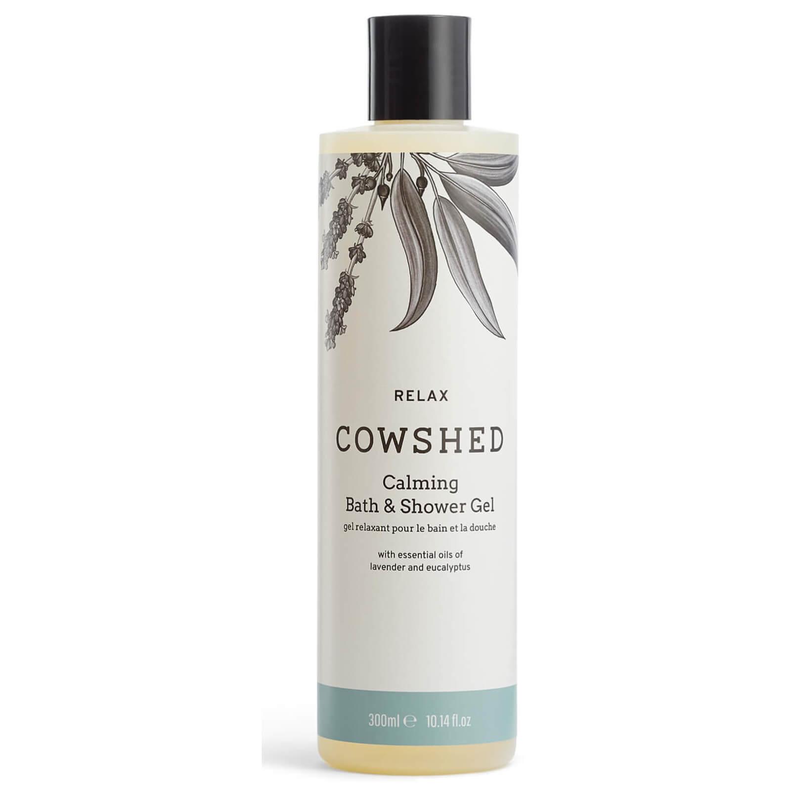 Cowshed RELAX Calming Bath & Shower Gel 10.5oz (300ml)