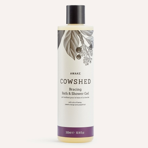 Cowshed Awake Bracing Bath & Shower Gel 10.5oz (300ml)