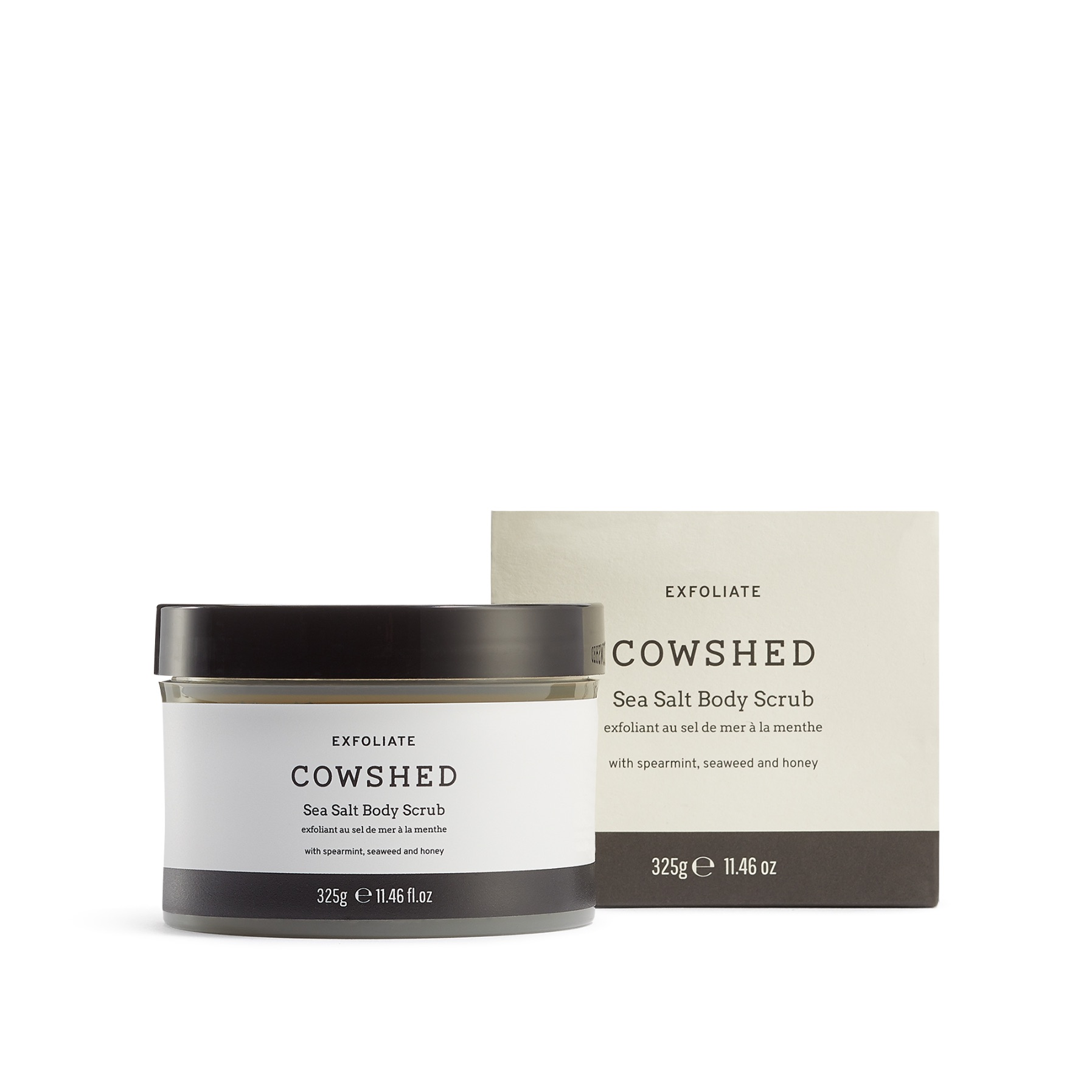 Cowshed EXFOLIATE Sea Salt Body Scrub 325g