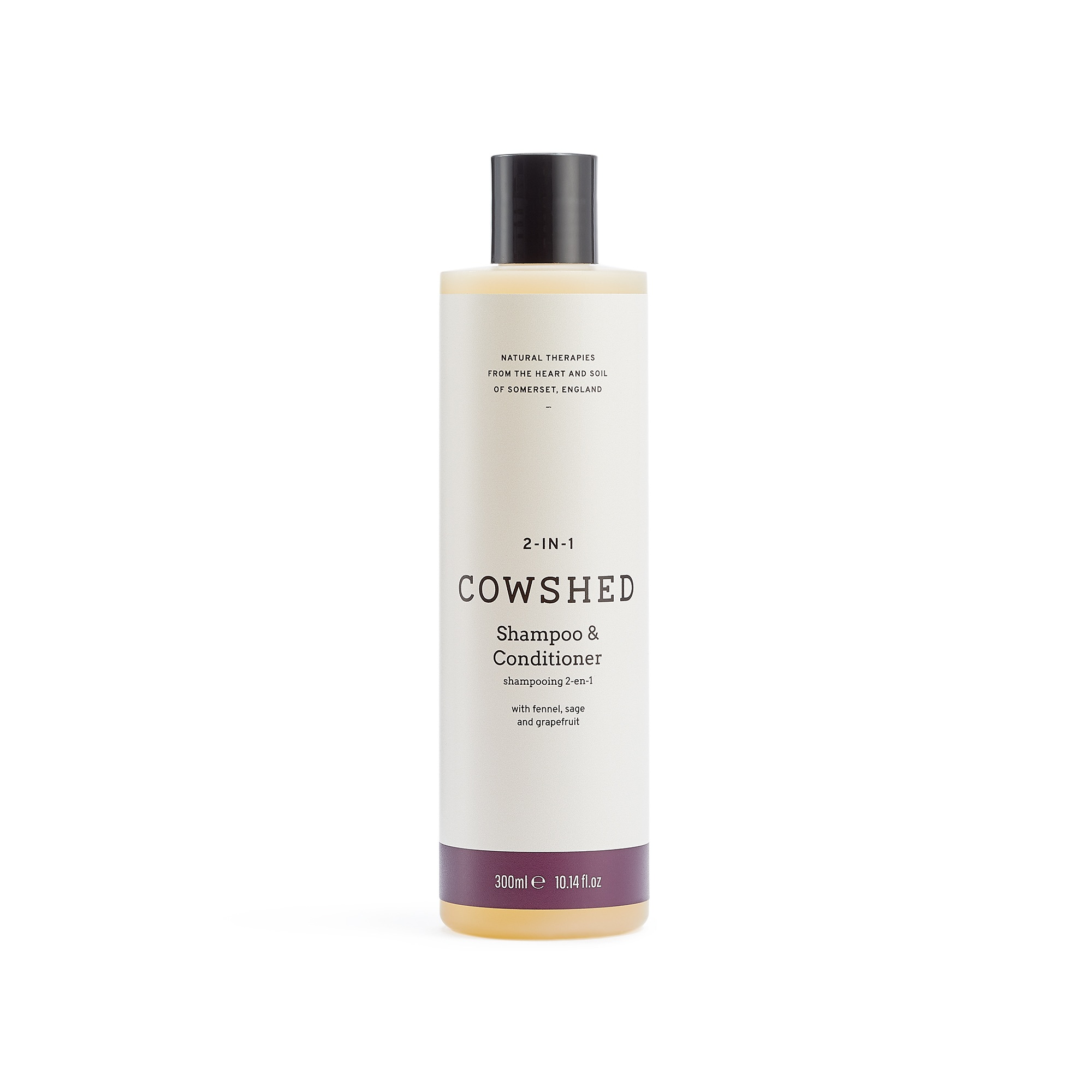 Cowshed 2-In-1 Shampoo & Conditioner (Bullocks 2-in-1 Shampoo & Conditioner) 10.5oz (300ml)