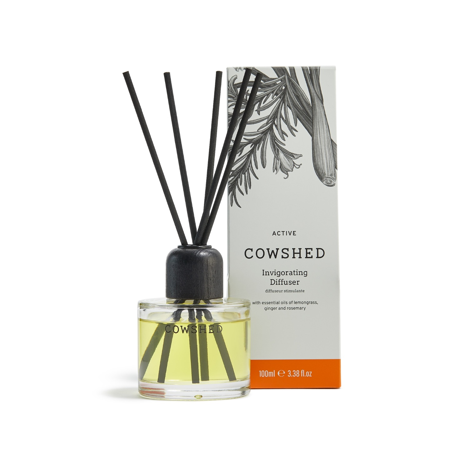 Cowshed ACTIVE Invigorating Diffuser 3.4oz (100ml)